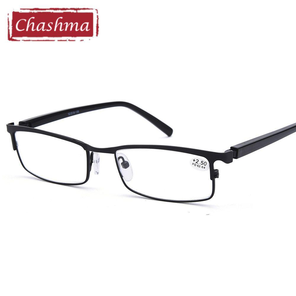 Lunettes de lecture printemps charnière Anti-réfléchissant clair lentilles optique presbytie verre pour hommes 1.5