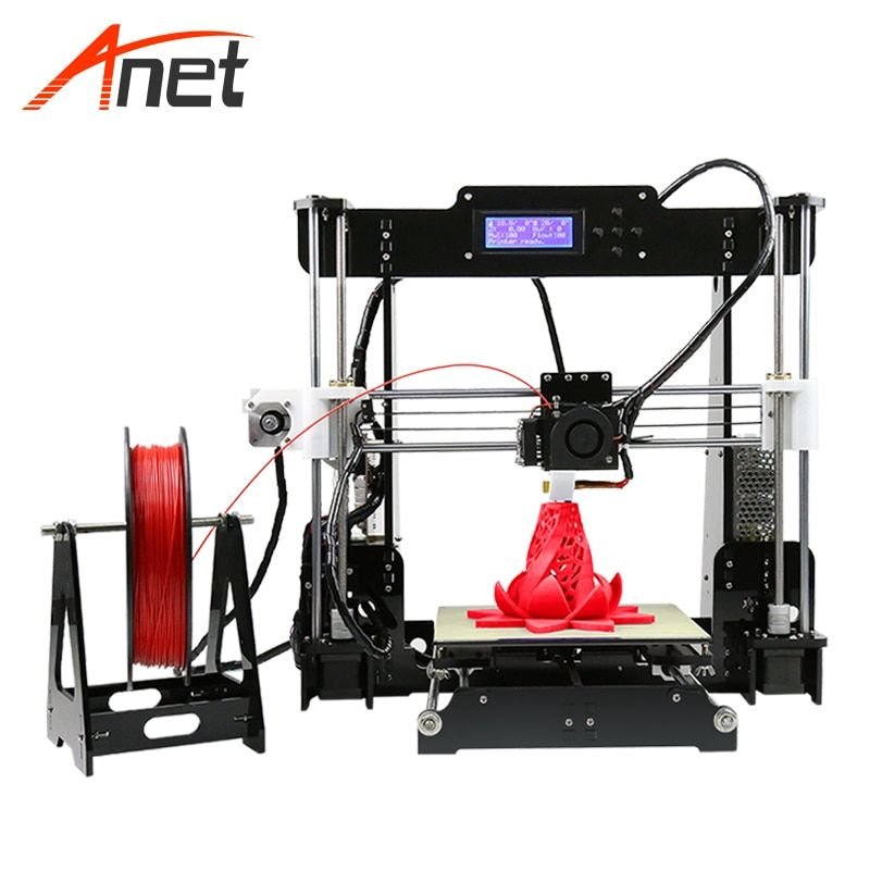 Anet A8 AutoLeveling 3d Printer Kit 240W Heating Fast Digital Printer Aluminum Heating Bed Impresspra 3d Most Popular 3d Printer