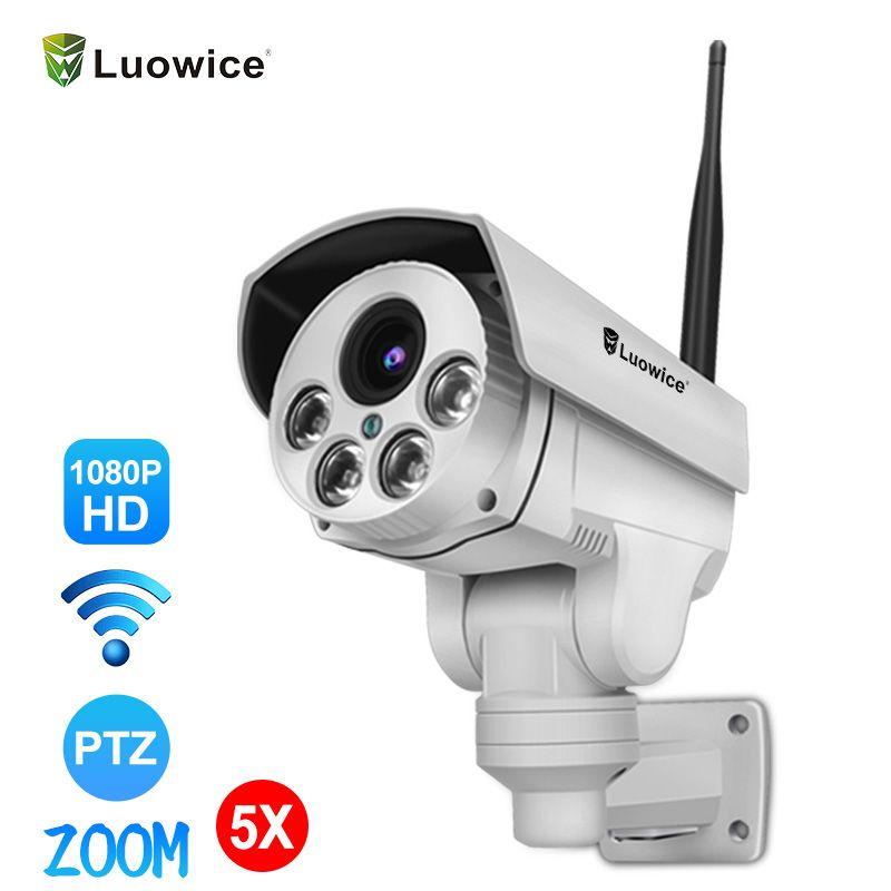 1080P Wifi IP Kamera Wireless Wifi Sicherheit Kamera Kugel Mit Audio Nachtsicht Indoor Outdoor IP66 mit PTZ 5X zoom videcam