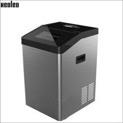 Xeoleo fabricante de hielo achine 50 kg/24 h cubo máquina de hielo 5 kg almacenamiento con filtro de agua conveniente café/burbuja tienda de té