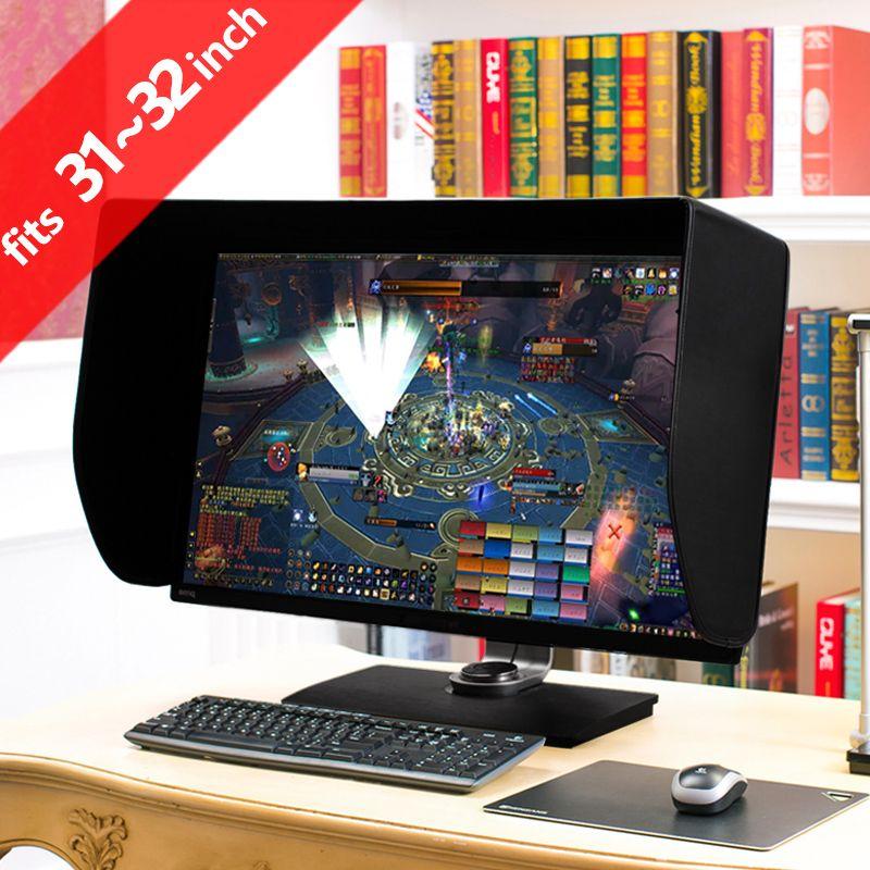 ILooker 32 P 31 pouces & 32 pouces Pro édition LCD moniteur LED capot pare-soleil pare-soleil pour Dell HP Viewsonic Philips Samsung LG EIZO