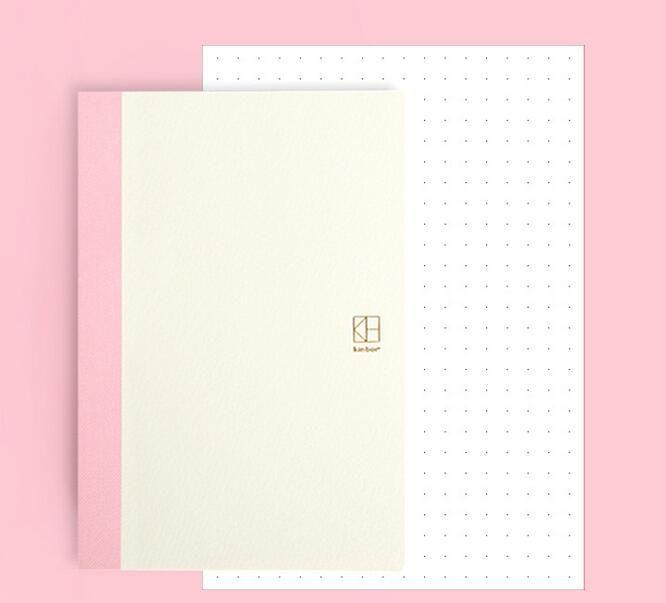 A5 Diario libro interior DIY del diario del cuaderno 14.8*21 cm hojas interiores 144 P juego para el estándar A5 diario 2017 escritura regalo