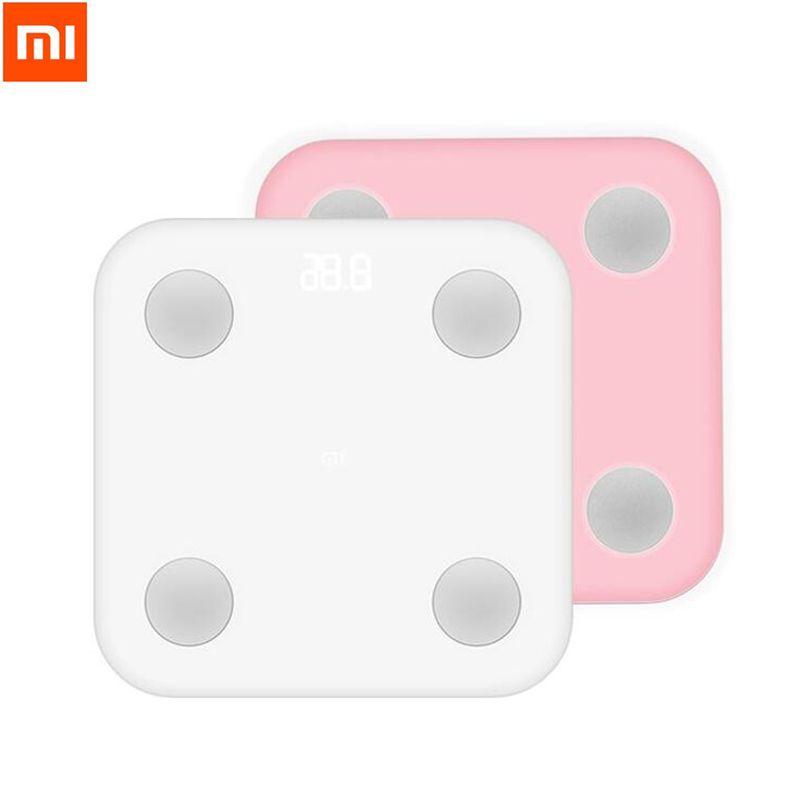 Xiaomi Mi Smart Körperfettwaage Mit Mifit APP & Körper zusammensetzung Monitor Mit Versteckte Led-anzeige Große Füße Pad gewichtsverlust skala