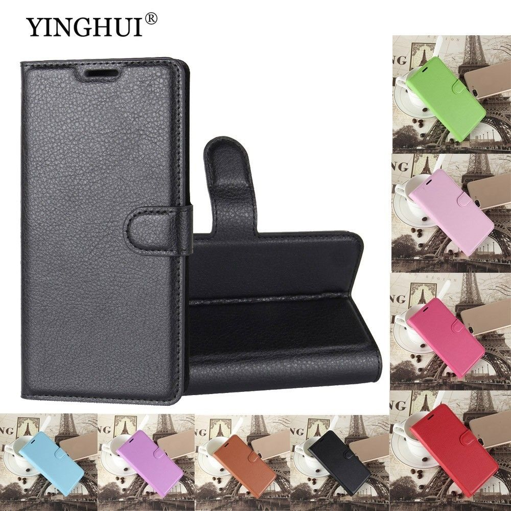 YINGHUI Luxury Wallet For Sony Xperia E5 Case PU Leather Cover For Sony Xperia E5 F3313 F3311 Flip Protective Phone Back Bag