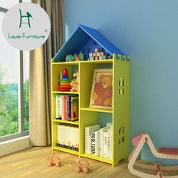 Louis Fashion Bookcase Creative and Environment-friendly Bookshelf Modern Simple Furniture Rack Children's Picture Shelf Student