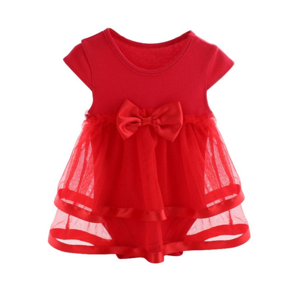 Лето 2017 г. Детские платья для новорожденных Спортивный костюм для девочек хлопок Лук Детские Комбинезоны для малышек для Обувь для девочек ...
