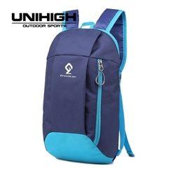 Greenlan 10L Nilon Ultra Ringan Hiking Ransel Ritsleting Berkualitas Tinggi dengan Tarik Cincin Outdoor Tahan Air Kebugaran Remaja Olahraga Tas