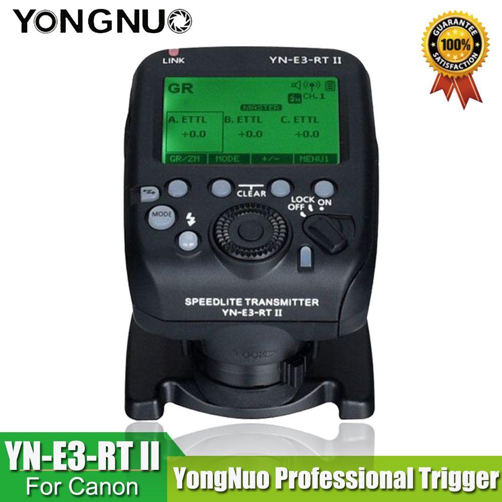 YONGNUO YN-E3-RT II TTL Radio Trigger Transmetteur Speedlite comme ST-E3-RT pour Canon 600EX-RT, YONGNUO YN600EX-RT