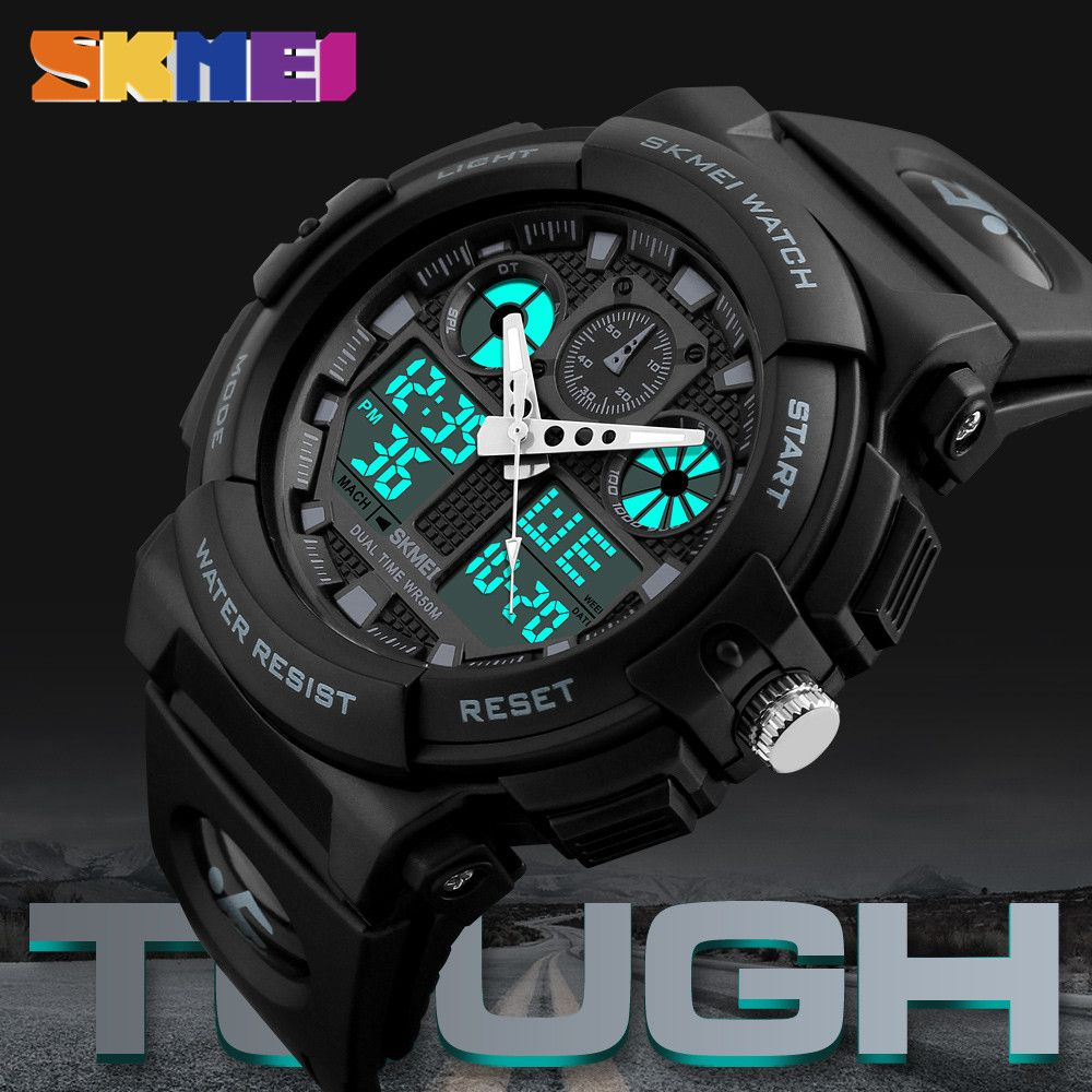 Relogio Masculino Luxury Brand Männer Quarz Digital LED Elektronische Military Watch Herren Sportuhren Outdoor Armbanduhren Uhr