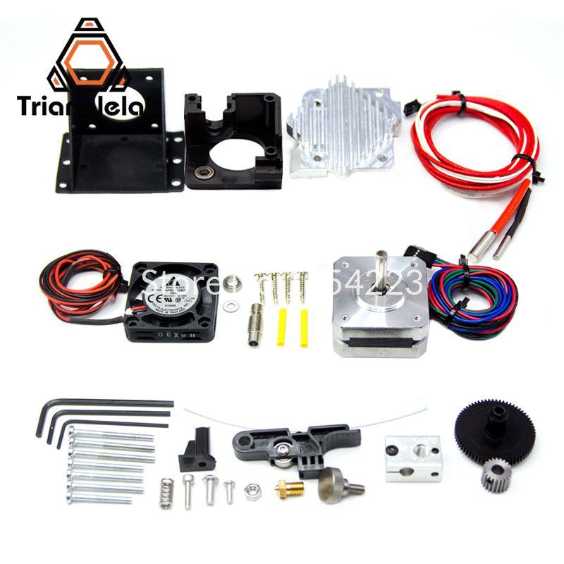 Trianglelab 3d imprimante Titan Aero V6 hotend extrudeuse kit complet livraison gratuite titan extrudeuse kit complet reprap mk8 i3