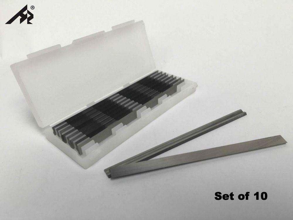 HZ 10PC Planer knife blade 82x5.5x1.2mm For Interskol, Metabo, Hammer 209-101, Elitech P82 P82K P-82TS, SKRAB 35530, DWT HB02-82