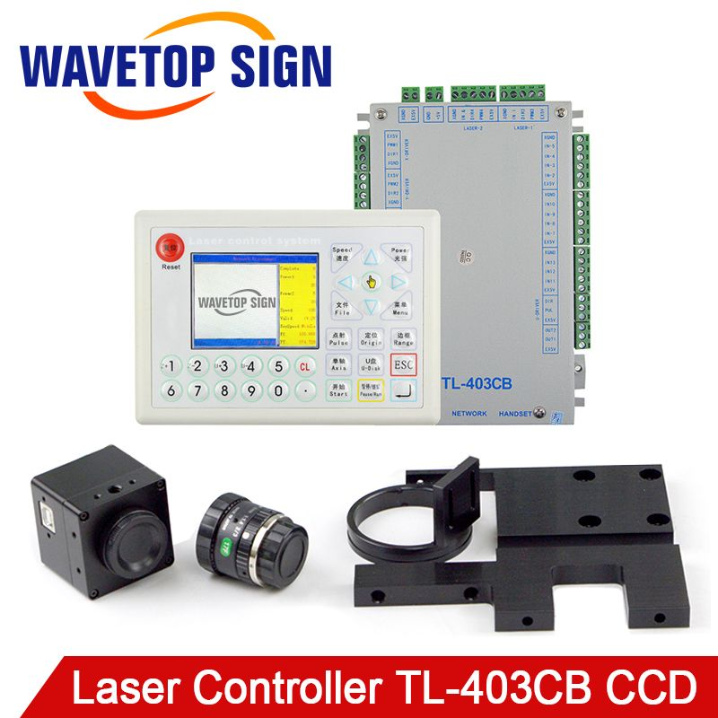 TL-403CB Laser Controller Camera+Control Card+LCD + Cable Embroidery Industry use for Laser Cutter and Laser Engraving Machine