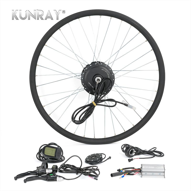 Electric Bicycle Conversion Kit G27F 36V 350W Hub Motor For 16