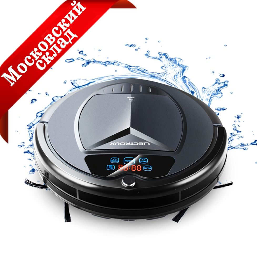 LIECTROUX B3000PLUS Robot Vacuum Cleaner Wet Cleaning for Home Carpet Sterilize Auto Sweeping Dust Pet Hair,Schedule,