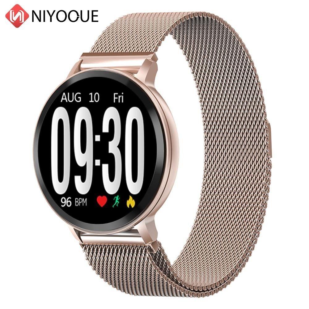 S8 Smart Watch Fitness Tracker Heart Rate Blood Pressure Step Sleep Monitoring Wristband Waterproof Sports Watchs Smart Bracelet