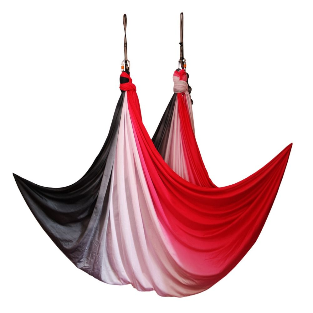 Anti-gravity Aerial Yoga Hammock Air Swing Flying Yoga Bed home yoga Gym Fitness Equipment Inversion Trapeze 2019 New arrival
