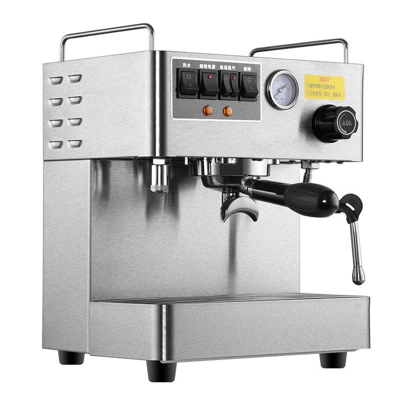 Oficinas Commerical Espresso Cafetera cafetera Completamente Automática 3000 W De Vapor de Alta Presión Cafetera Italiana