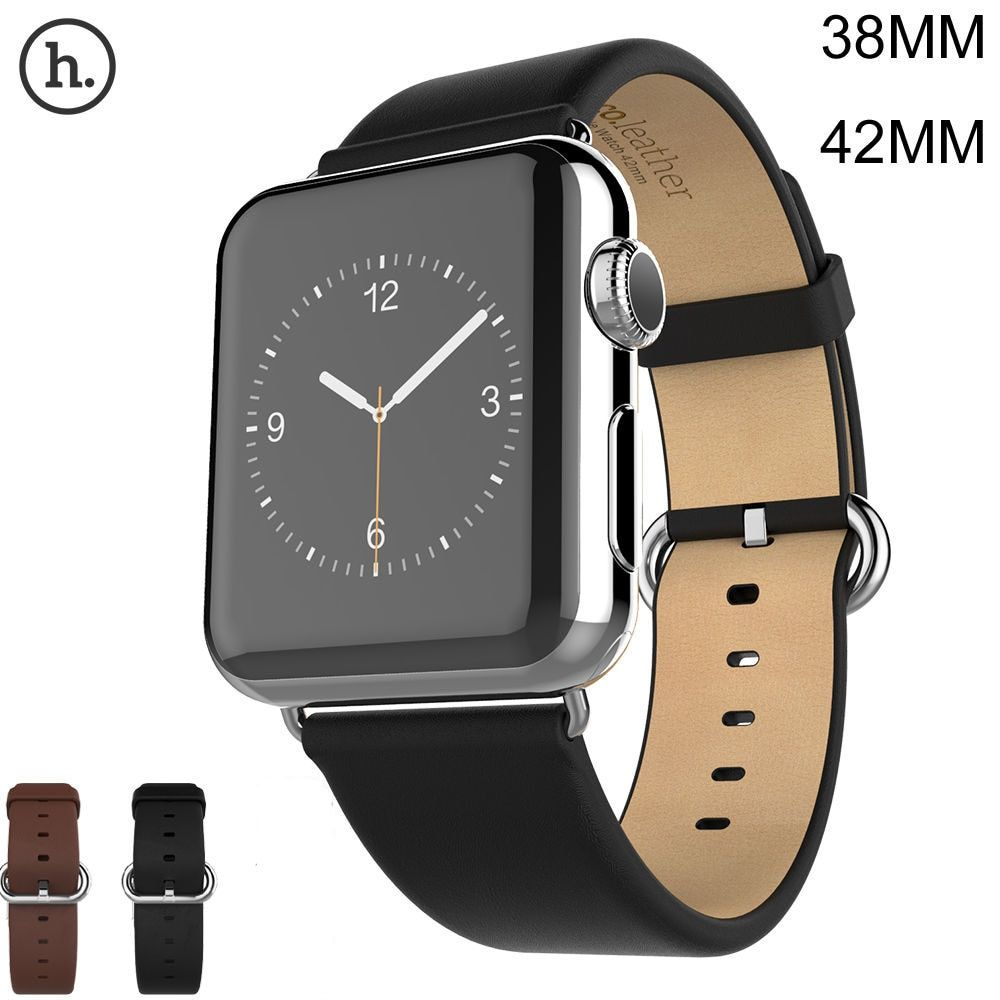 HOCO Genuine Leather Band For Apple Watch iWatch Series 1 2 3 Watch Band 42MM 38MM Strap Made By First Layer Cattle Leather