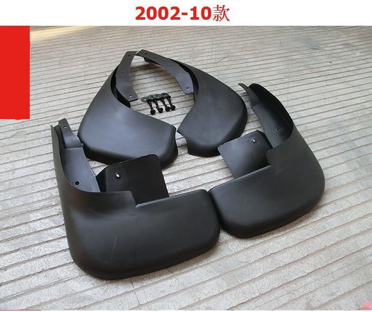 Car styling Sport Soft plastic Mud Flaps Splash Guard Fender For VW Volkswagen POLO 2002-2015 Free shipping Hatchback car