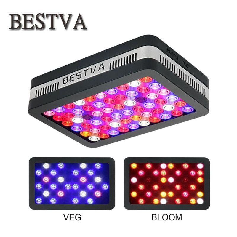 BestVA LED grow light Elite-600W Full Spectrum for Indoor Greenhouse grow tent plants grow led light  Veg and Bloom mode