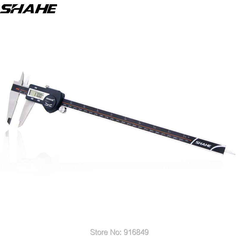 shahe digital caliper 300 mm paquimetro digital caliper stainless steel electronic ruler digital vernier caliper
