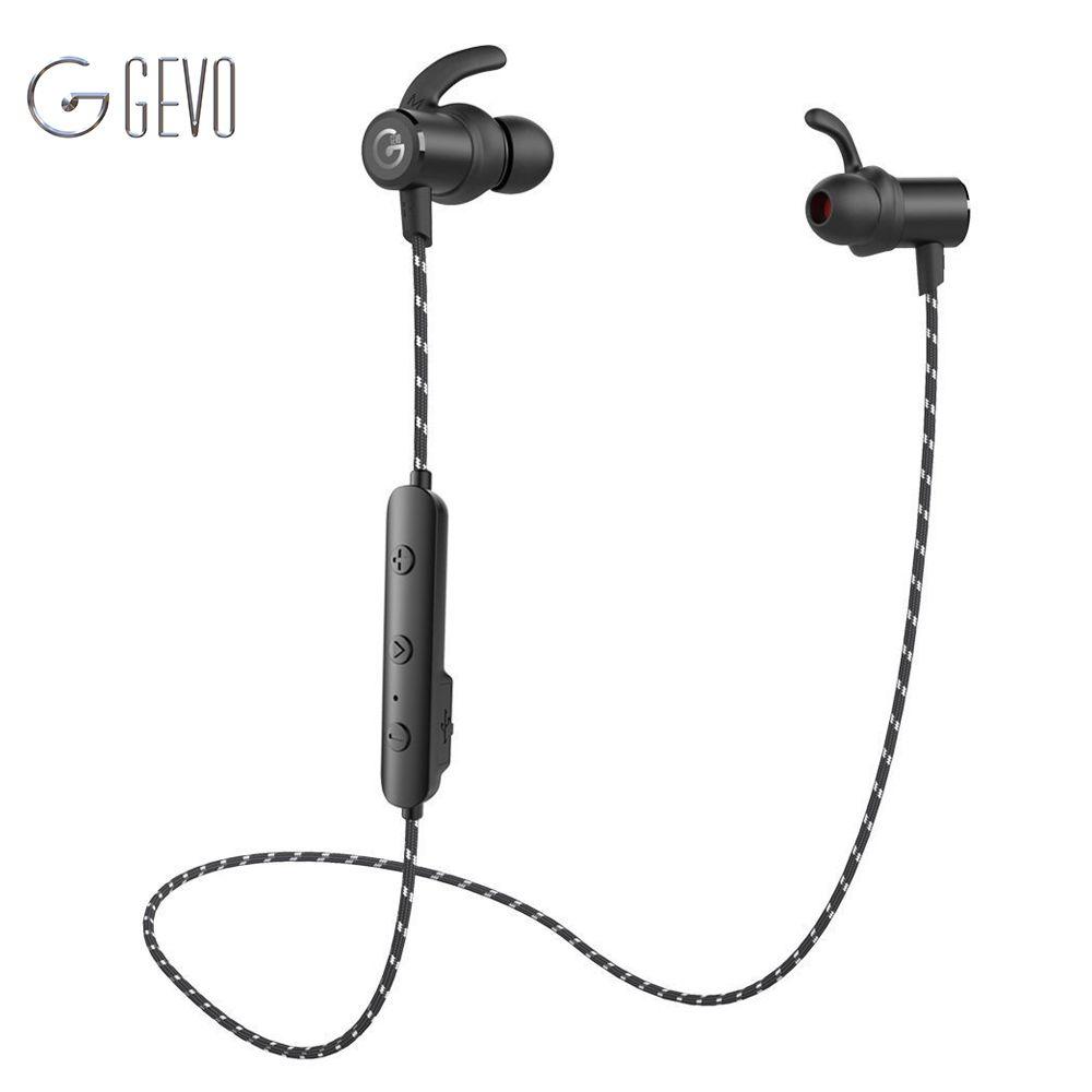 GEVO GV-18BT Wireless Headphone Bluetooth Sport In ear Magnetic Stereo Bass Waterproof Headset Earbuds Earphone For Xiaomi Phone