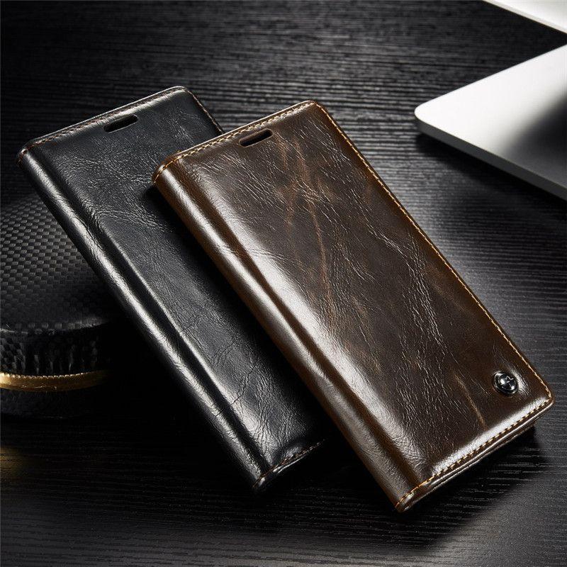Cas de luxe de Téléphone pour Sony Xperia Z3 Z4 Z5 Étui En Cuir pour Sony Z 3 Z 5 Double Magnétique Flip couverture de Stand Portefeuille Sacs Titulaire de la Carte