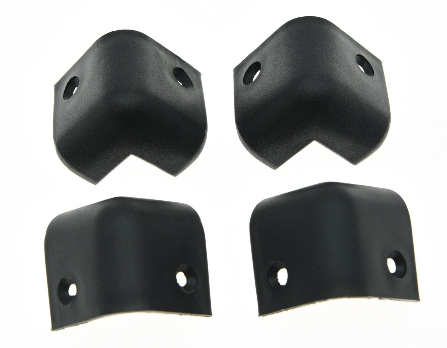 KAISH 8x Hard Plastic 2 Hole Guitar AMP Cabinet Corners Speaker Corner 28x28x28mm