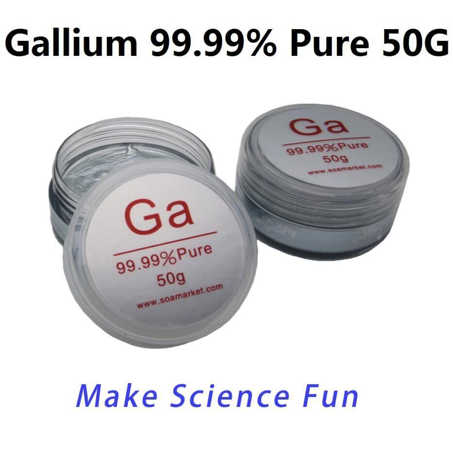 50 grammes de métal gallium pas cher 99.99% pur gallium métal