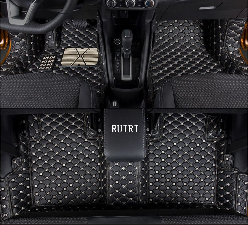High quality! Special car floor mats for Nissan Kicks 2018 non-slip durable rugs waterproof carpets for Kicks 2017,Free shipping