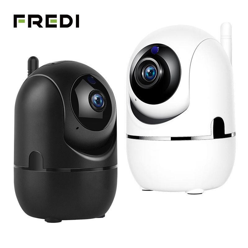 Caméra de Surveillance de sécurité à domicile FREDI 1080 P Cloud IP caméra de Surveillance intelligente réseau de suivi automatique caméra WiFi caméra de vidéosurveillance sans fil