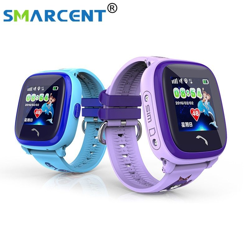 DF25 Children GPS Phone smart watch baby watch Swim IP67 Waterproof SOS Call Location Device Tracker Kids <font><b>Safe</b></font> Anti-Lost Monitor