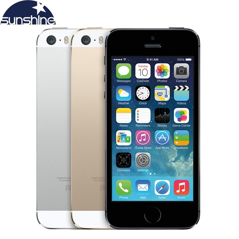 Unlocked Original Apple iPhone 5S Mobile Phone Dual Core 4 IPS Used Phone 8MP GPS IOS Smartphones iPhone5s Cell Phones