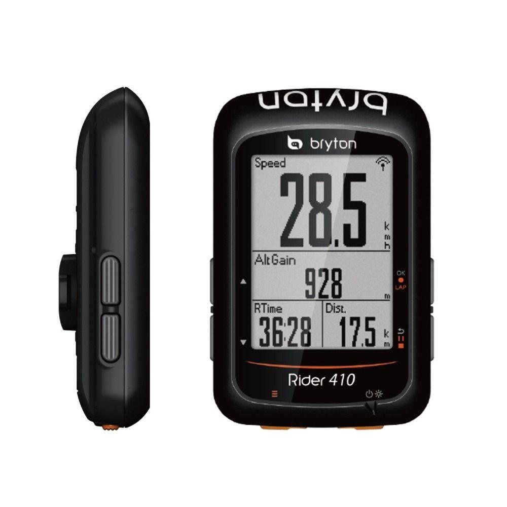 Bryton Reiter 410E/410 t Drahtlose GPS/ANT + BLE Bike Fahrrad Radfahren Computer