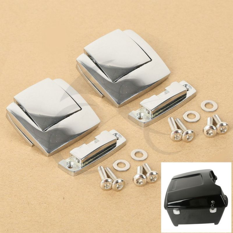 TCMT Tour Pack Pak Latches For Harley Touring Classic Electra Glide Ultra Razor FLHX FLTR 80-13