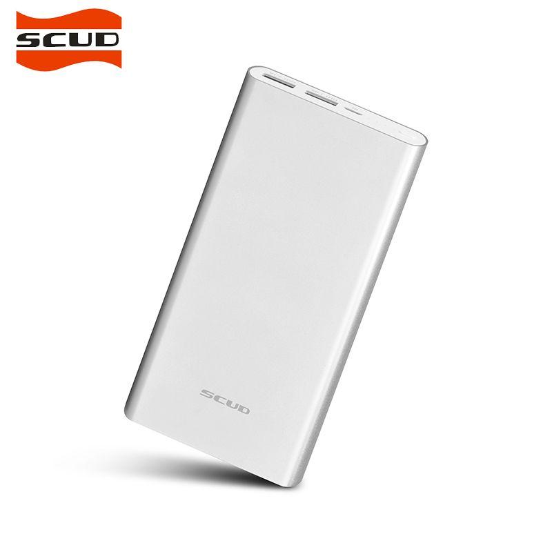 SCUD 20000 mah Banco de Potencia Dual USB Portátil Cargador de Batería Externo Banco Pover Powerbank Móvil Cargador Rápido M201