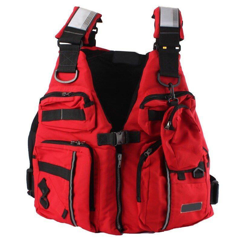 Detachable Adult Life Jacket Waterproof Fishing Vest With EPE Foam Sailing Surfing Kayak Boat Fishing Tackle Vest With Pockets