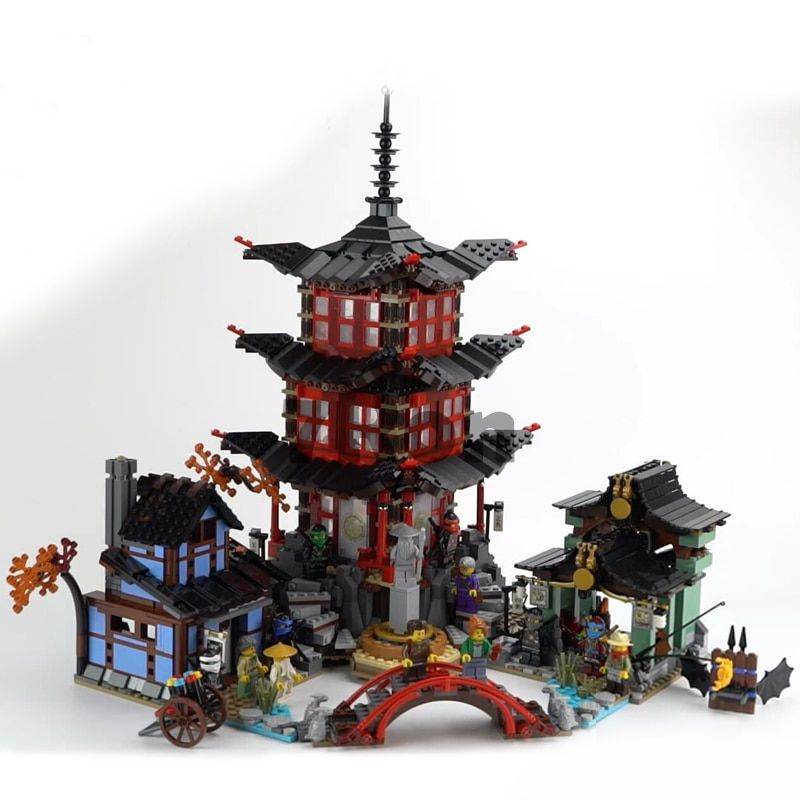 70751 06022 Compatible with Lego blocks Ninjago Figure Temple of Airjitzu Model building toys hobbies education for children