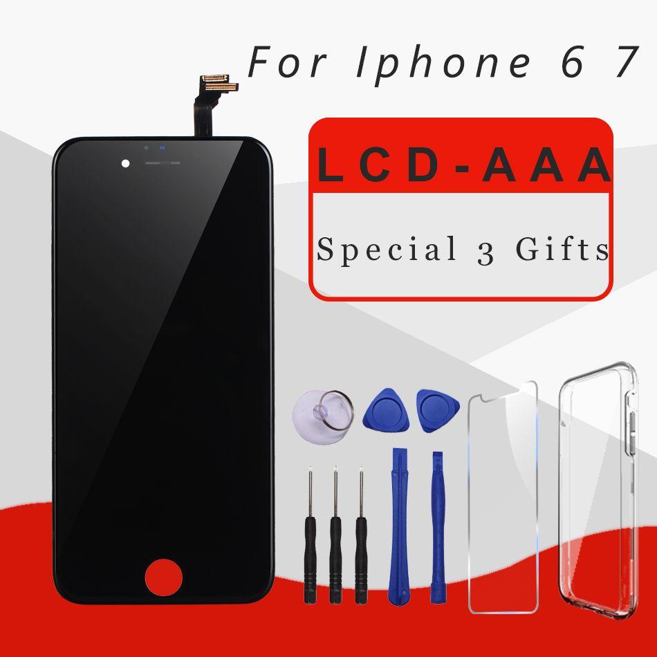 AAA Qualité LCD Écran Pour iphone 6 Assemblée D'affichage de Remplacement avec Digitizer Originale Téléphone Pièces pour iphone 7 5S lcd