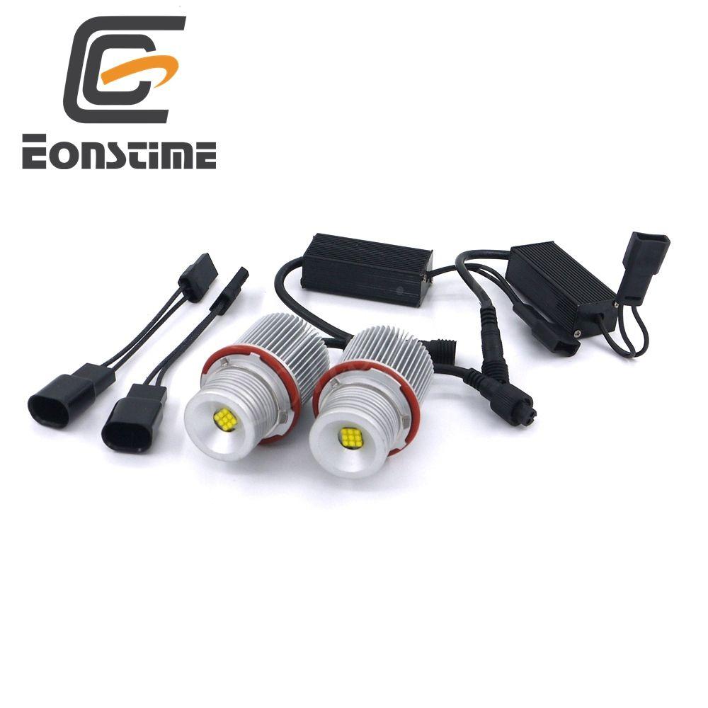 Eonstime Error Free 2X27W XBD 9LED Angel Eyes LED Marker Light Bulbs For BMW E39, E60,E61,E63,E83,X3,X5 E87 525i M5 525i E53 E66