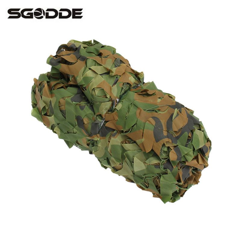 New Four-season Outdoor Hunting 300 x 300cm Military Camouflage Jungle Net Woodlands Camo Blind Trap Tent Hunt Accessories