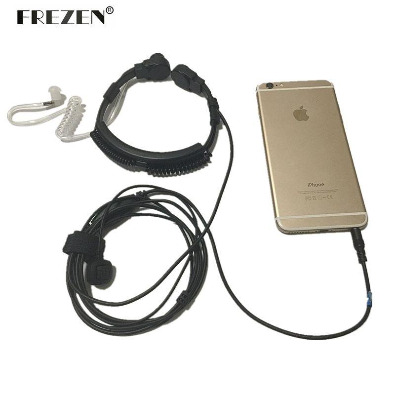 Micro de gorge souple jack 3.5mm Microphone cache Tube acoustique écouteur casque pour iphone xiaomi iphone android téléphone mobile
