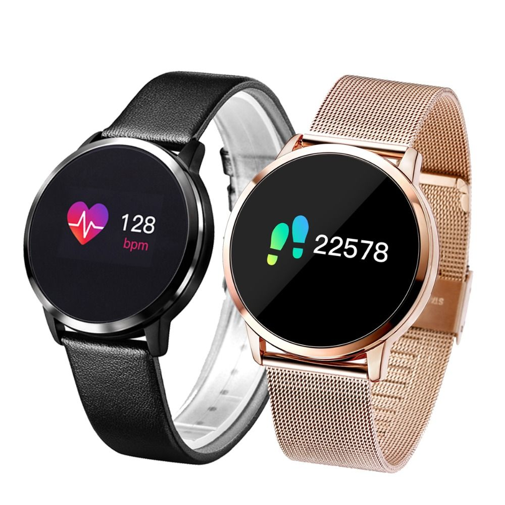 Newwear Q8 Q9 Smart Watch Fashion Electronics Men Women Waterproof Sport Tracker Fitness Bracelet Smartwatch Wearable Device