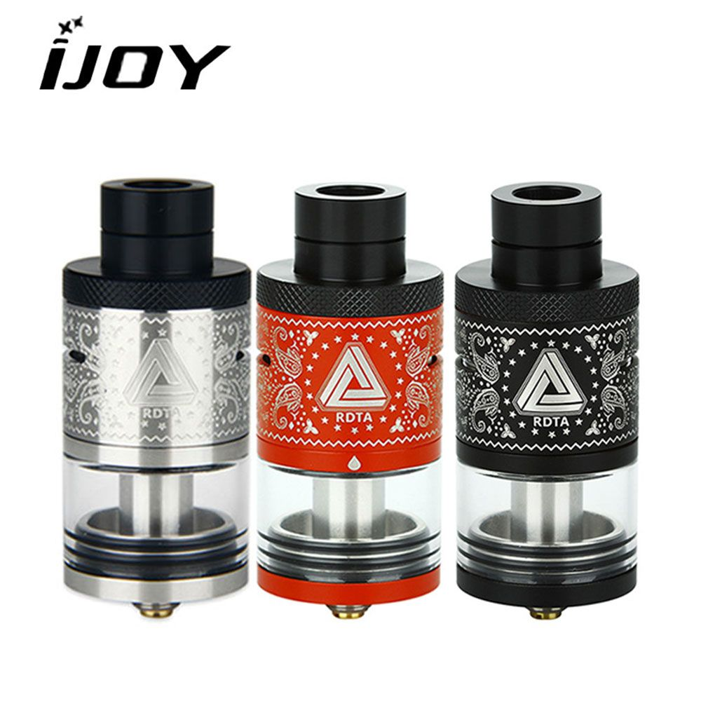 Original Ijoy Limitless RDTA Plus Tank Atomizer with 6.3ml Capacity 25mm DIY Coil e cigarette for Vape Box Mod VS Avocado 24