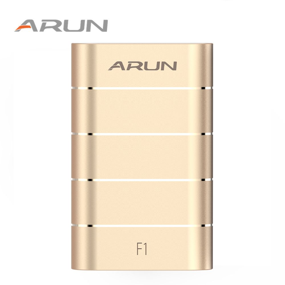 ARUN F1 Power Bank USB Fast Charger External Battery F1 Portable Mobile Phone Charger For Samsung OPPO Huawei Xiaomi Iphone