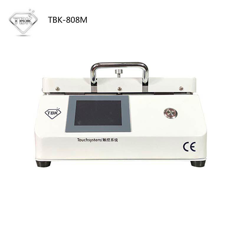 Neueste MINI TBK-808M LCD Touch Screen Laminator Reparatur Blase Entfernen Maschine Automatische Sperre Air OCA Vakuum Laminieren Maschine