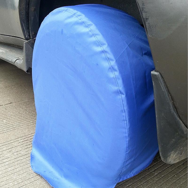 CHIZIYO Car Spare Tyre Cover Garage Tire Case Oxford Cloth Auto Automobile Tire Accessories Summer Winter Protector For 13