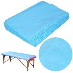 10 шт водонепроницаемый одноразовый на кровать для массажа, спа лист крышка стола нетканый хлопок 68,9 ''x 29,5'' массаж в салоне красоты крышка ли...