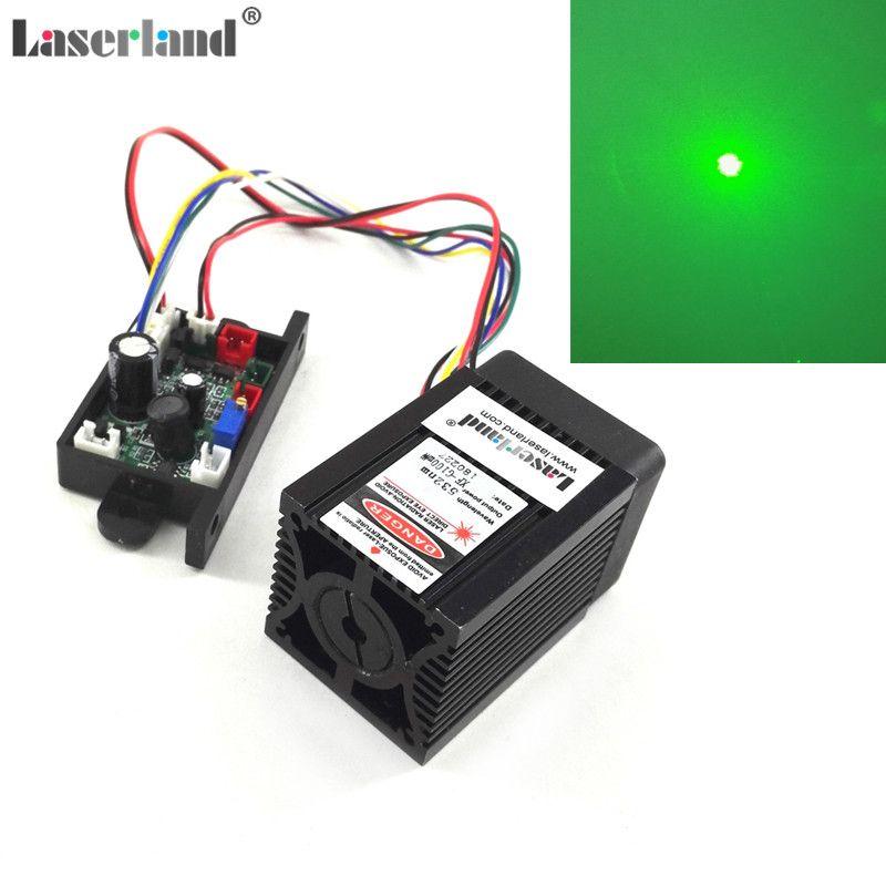 DPSS 100mW-130mw 532nm Green Laser Diode Module TTL/Analog 110VAC-220VAC Stage