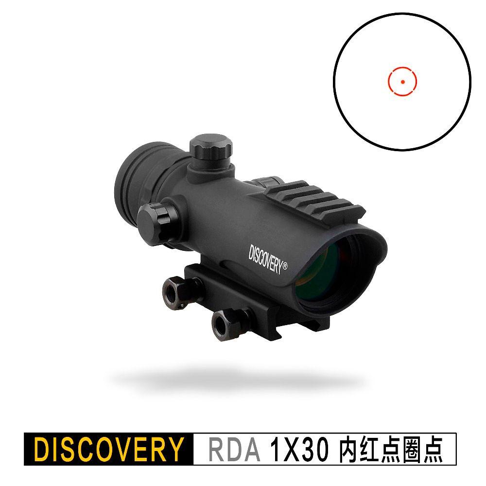 Entdeckung red dot RDA 1X30 optische anblick Taktische zielfernrohr Optik Jagd kollimator Für AK47 AR15 Fit Picatinny 20mm Schiene